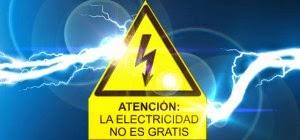 Información de consumos electricos