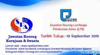 Jawatan Kosong Lembaga Pelabuhan Johor (LPJ)