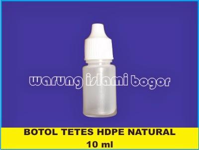 Jual Botol Tetes 10ml Transparan Bening