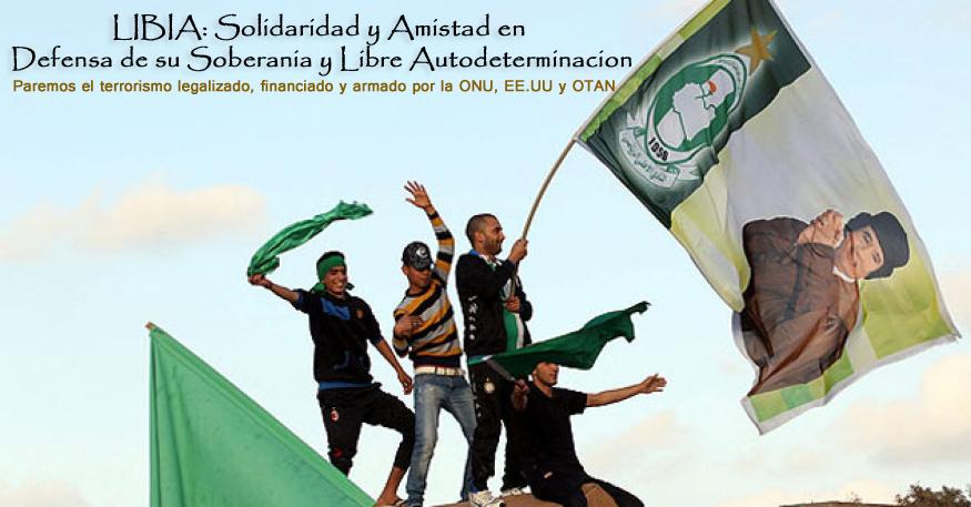 Libia Solidaridad y Amistad en Defensa