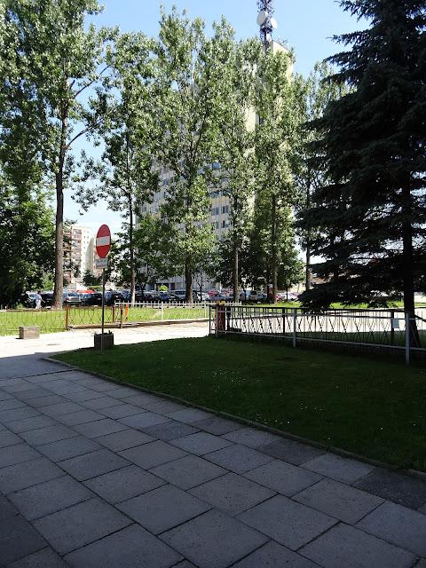 Ulica Targowa. Najwyższy budynek w Kielcach