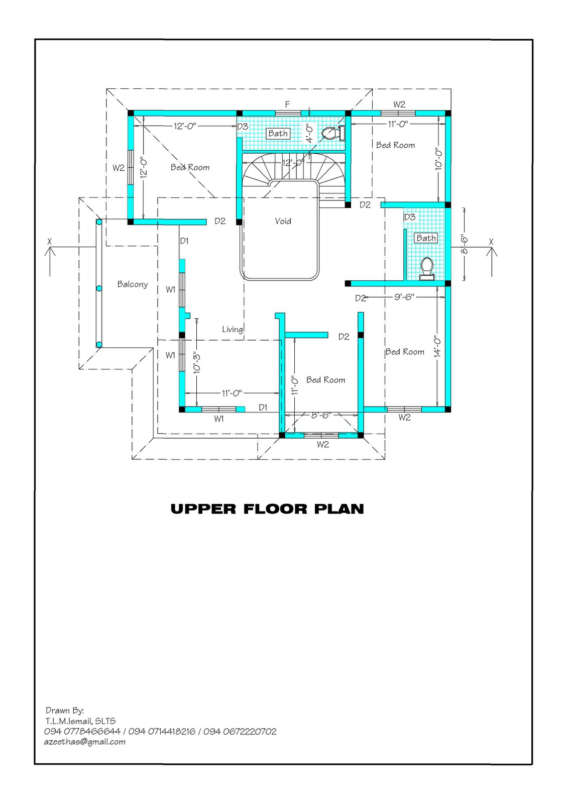 Sri Lankan House Plan Designs