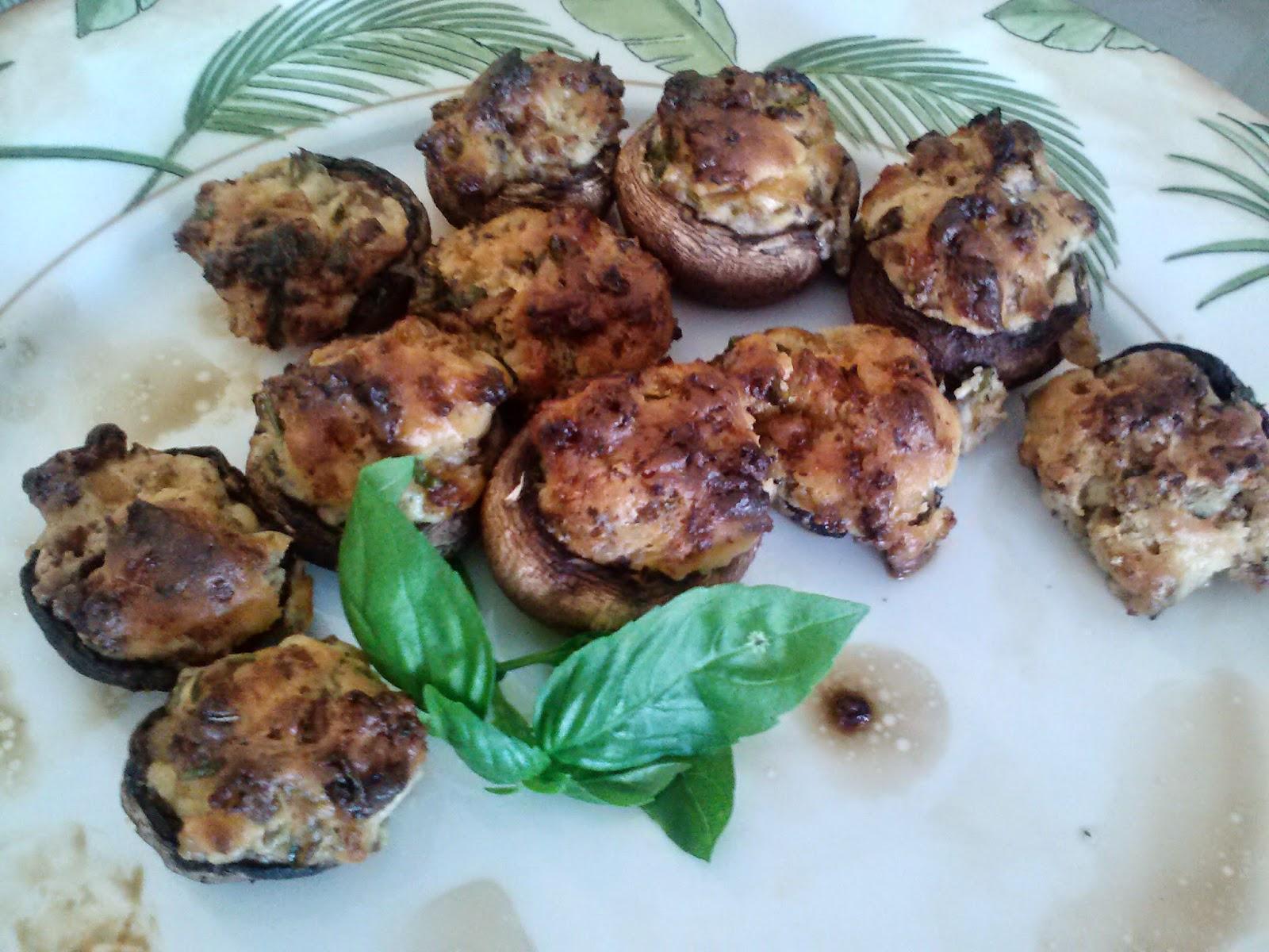 Sausage Stuffed Mushrooms | Meemaw Eats