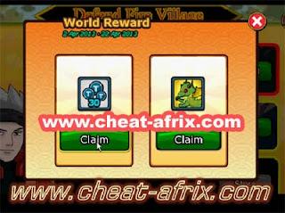 Cliam Free 30 Tokens Pet Tamadama Dragon Ninja Saga