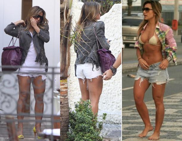 ca3b9e8f4bf61 Blog da Janaina Honjoya  DIY  Como desfiar o short jeans