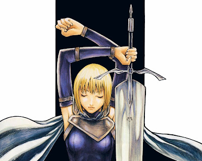 Claymore Wallpaper 0010  Claymore | Wallpaper | Anime Girl | Blonde Hair