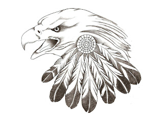 tatto: Eagle Feather Tattoo