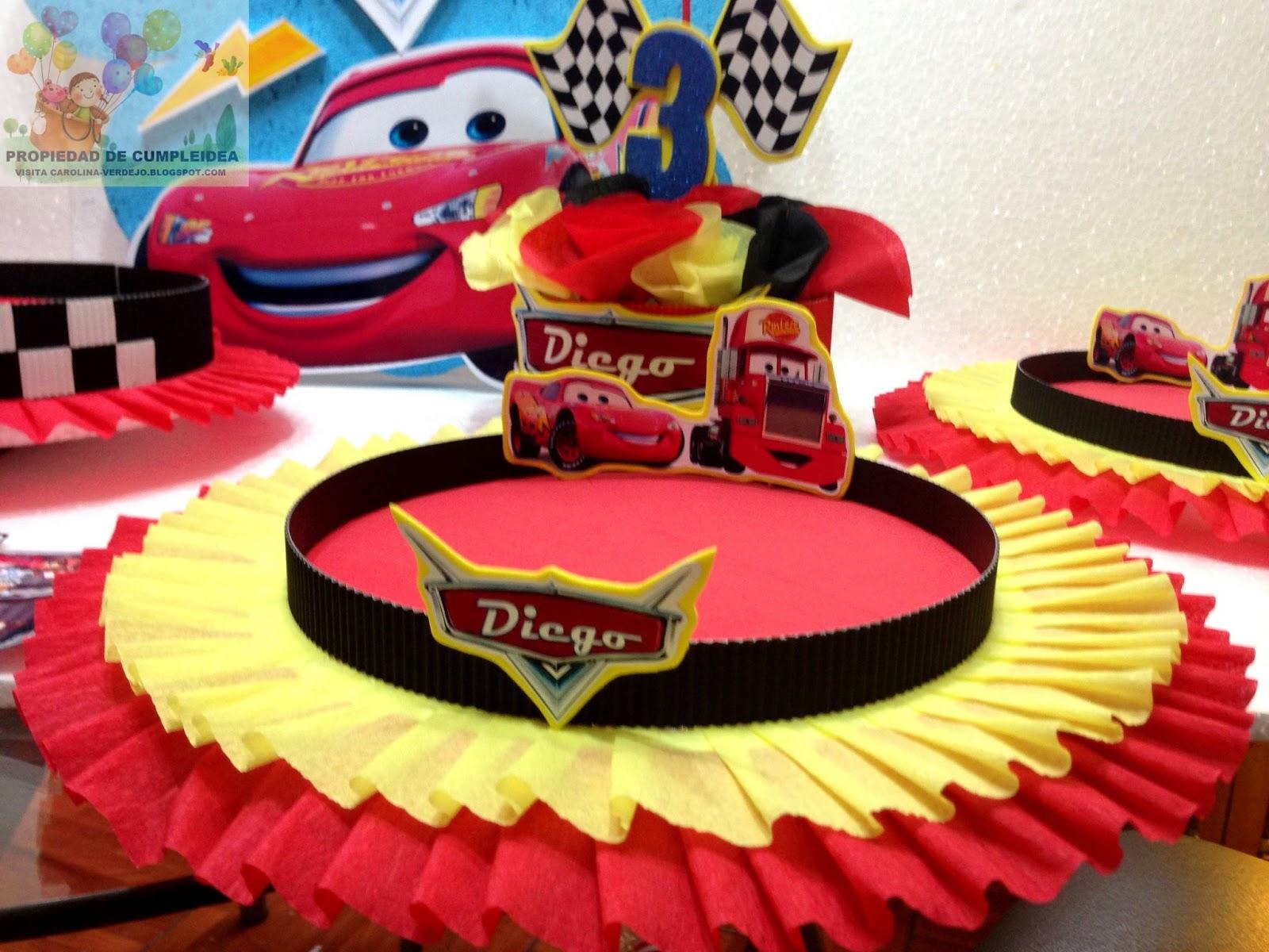 Decoracion Infantil De Cars ~ DECORACIONES INFANTILES
