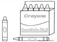 Mewarnai Gambar Crayon
