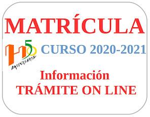 MATRÍCULA. Información