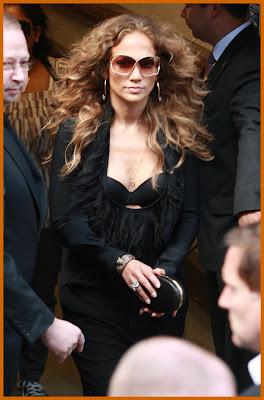 Jennifer Lopez In black