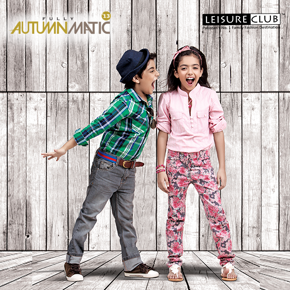 Leisure club autumn collection 2013 for men women and kids