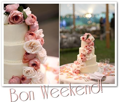 bröllopstårta med blommor, bröllopstårta med rosor, annorlunda bröllopstårta