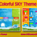 Colorful SKY Theme For Nokia c3-00,x2-01,asha200,201,205,210,302 320*240 Devices