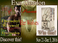 Eva Gordon's CHERNOBYL WEREWOLF Release Giveaway
