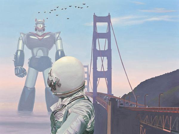nuncalosabre. ©Scott Listfield | Nuevos Trabajos de El Astronauta Pop