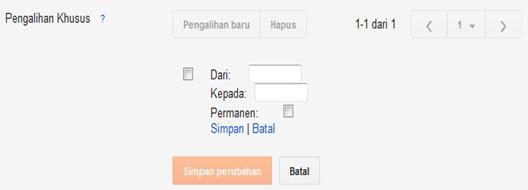 Redirect Link Mengembalikan Url Link Halaman Blog