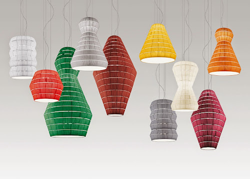 Layers Pendant Lamps by Vanessa Vivian
