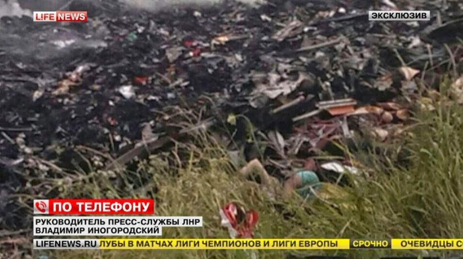 Tragedi MH17 Terhempas