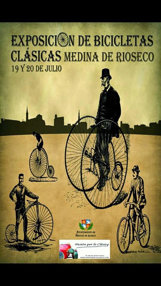 Exposición bicis antiguas