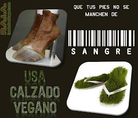 Los animales necesitan su piel, tu no....