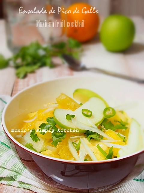 salad buah ala mexico