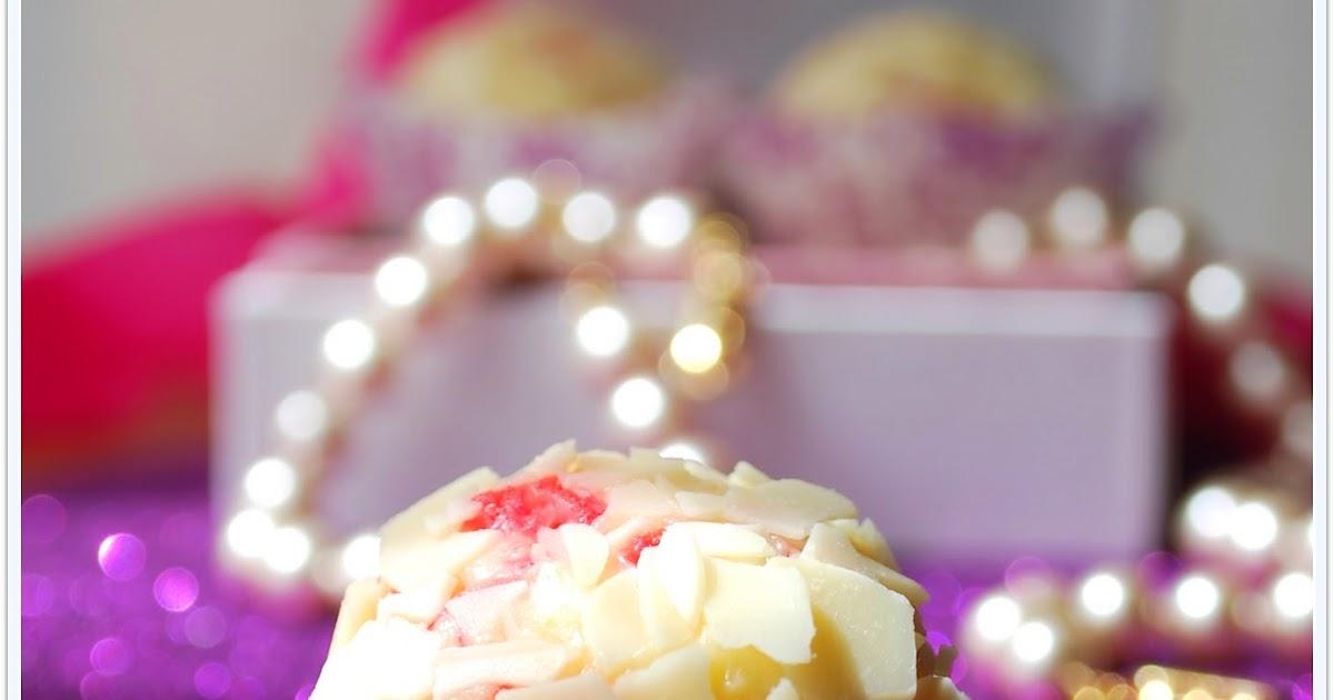 Baño Blanco Thermomix:Marisa en la Cocina: Trufa de Guindas y Chocolate Blanco al Kirsch