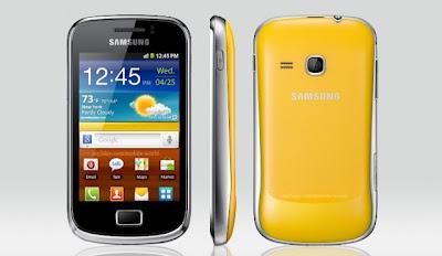 Samsung Galaxy Mini 2 s6500 Spesifikasi dan Harga