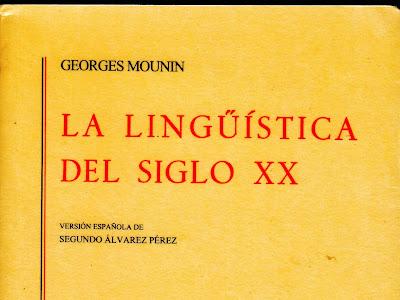 La Lingüística del Siglo XX