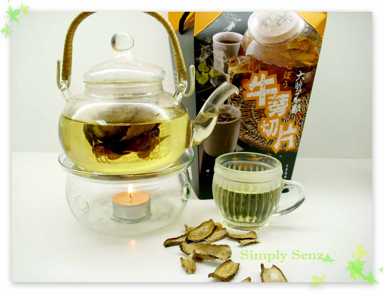 Simply Senz Burdock Root My Wonder Purify Tea