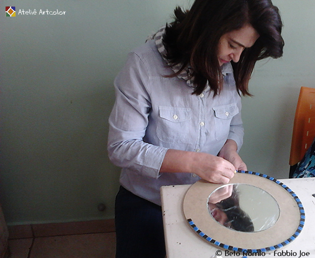 Aparador Com Gavetas Branco ~ Mosaicos Joe& Romio Click Artcolor Mosaic Class e Presentes