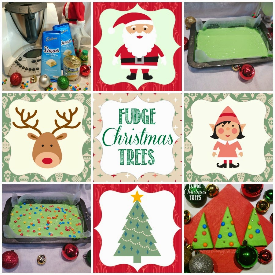 how to make fudge xmas trees