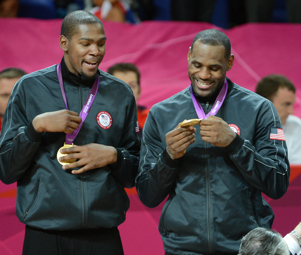 LeBron and Durant USA