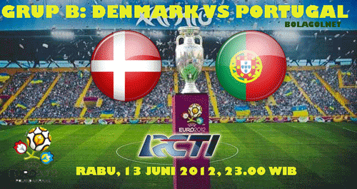 Prediksi Skor Denmark vs Portugal Euro 2012 13 Juni 2012