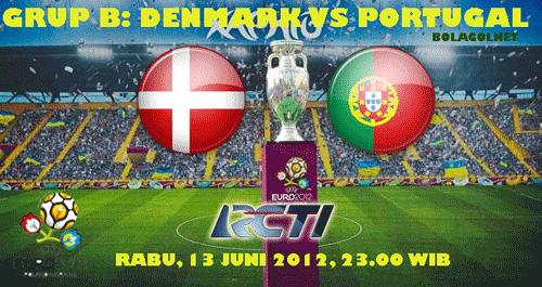 Prediksi Skor Denmark vs Portugal Euro 2012 13 Juni 2012