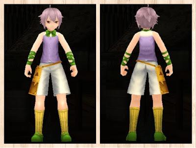 ハロウィンの衣 蛍光緑3