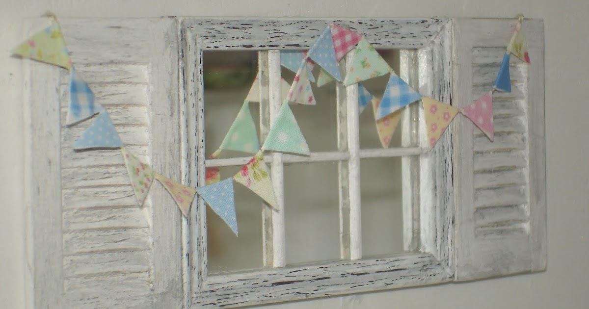 Carolyn 39 s little kitchen shabby chic bunting for Shabby chic definition