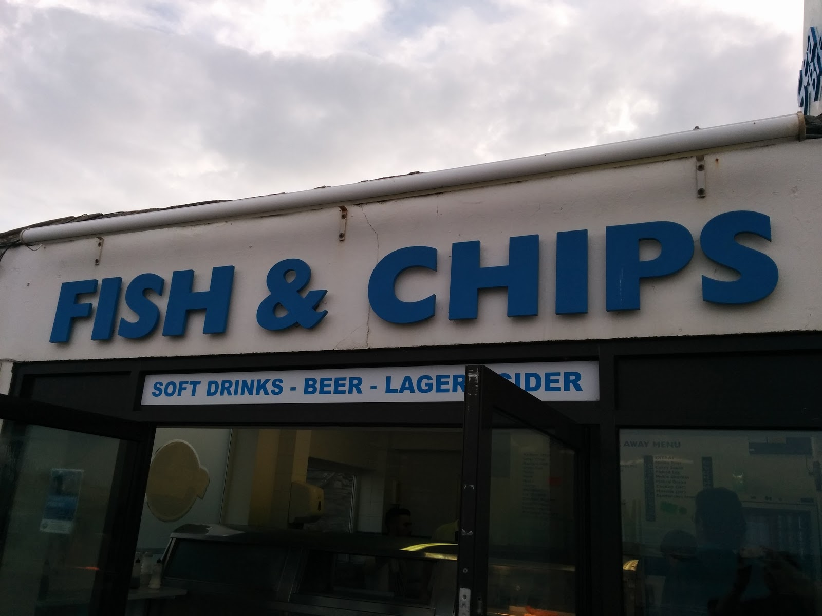 Fish and Chip shop at the Seaside