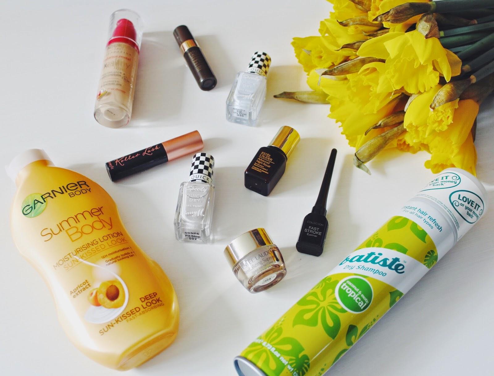 fbloggers, halcyonvelvet, bbloggers, beauty, beautybloggers, makeup, summerbody, garnier, esteelauder, batiste, dryshampoo, collection2000, eyeliner, barrym, nailvarnish, benefitrollerlash