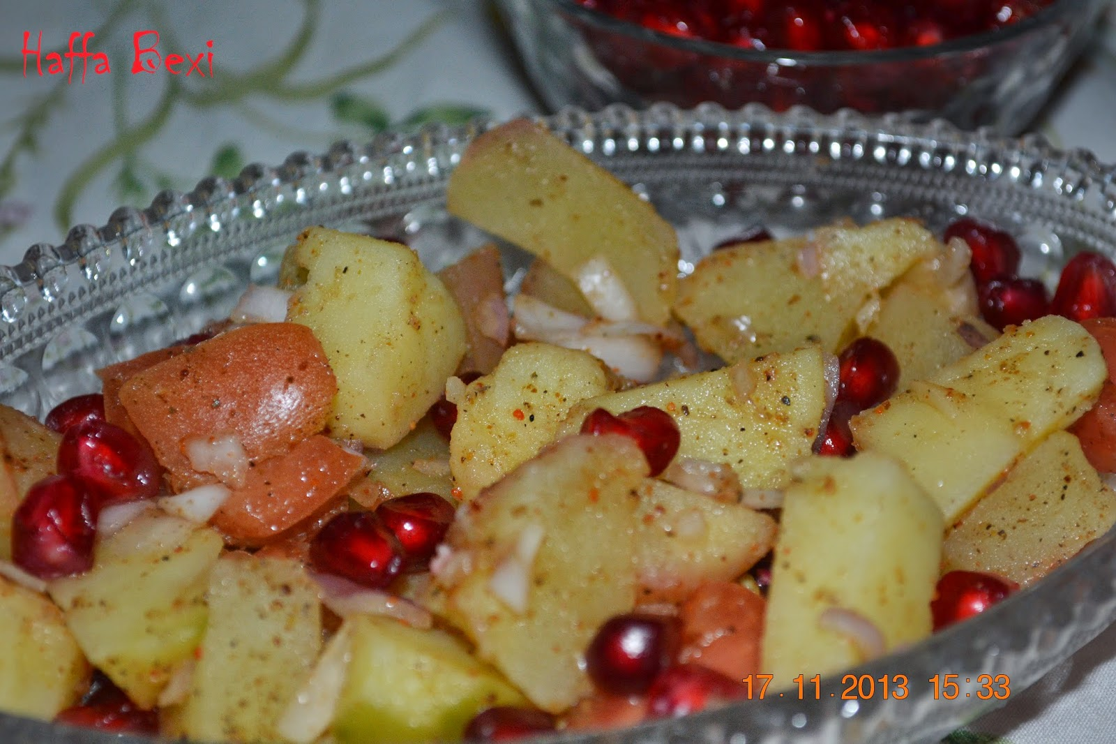 Diet recipes, Fruit salad, Salad, salads, homemade potato salad, potato salad, red potato salad, easy potato salad, how to make potato salad, pomegranate salad,