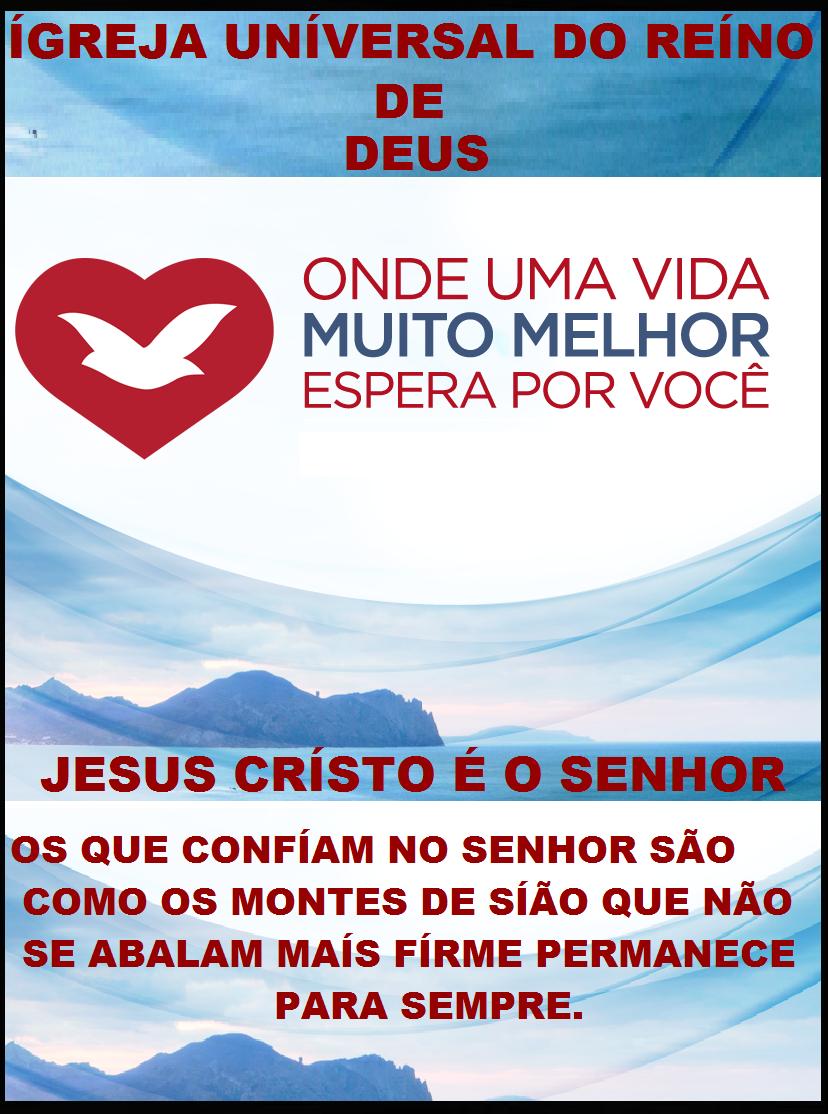 ÍGREJA UNÍVERSAL DO REÍNO DE DEUS