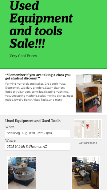 used jewelry tools and equipment for sale