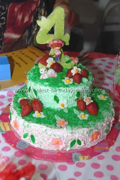 Cake Designs Thank You Strawberry Shortcake