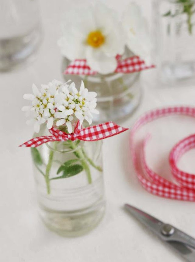 cuadros vichy boda gingham wedding