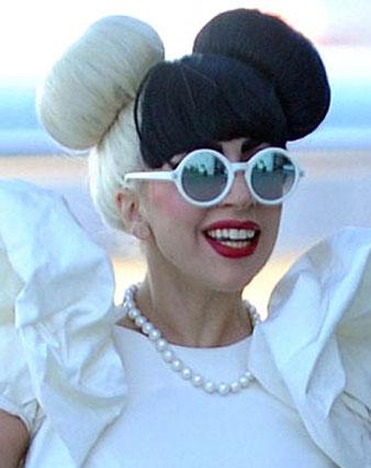 Celebromantic Lady Gaga Saç Modeli