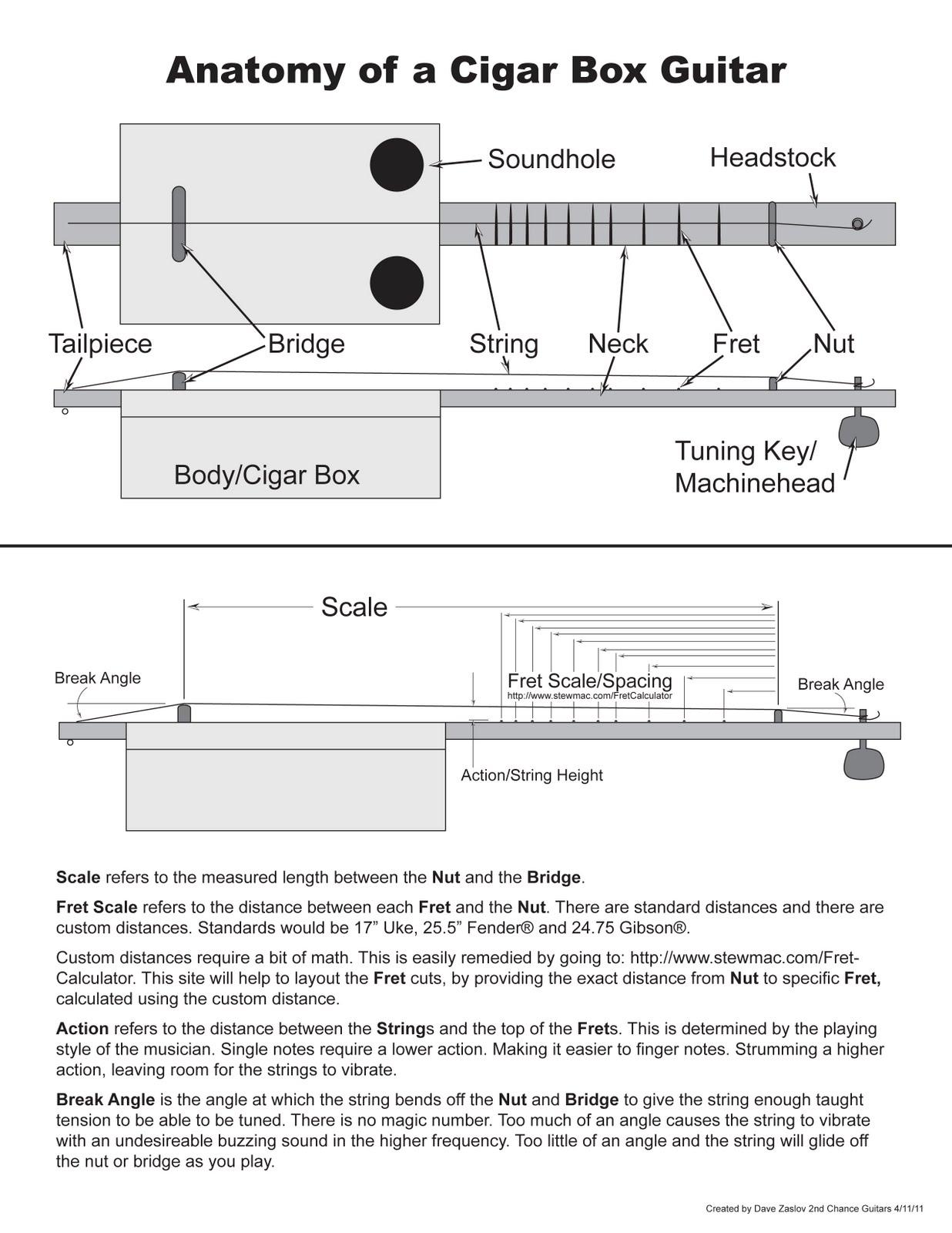 Cigar Box Guitar Diagram Electrical Drawing Wiring 2nd Chance Guitars Class 2 Rh 2ndchanceguitars Blogspot Com 3 String
