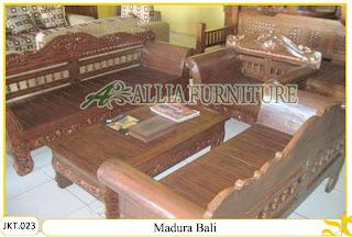 Meja / Kursi Tamu Ukiran Madura Bali