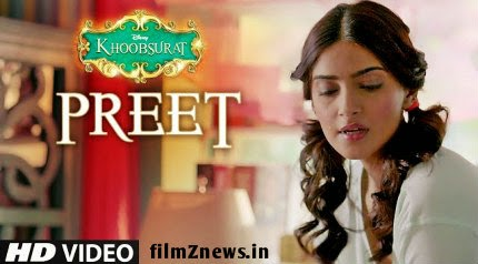 Preet Video from Khoobsurat (2014) - Jasleen Royal, Sonam Kapoor