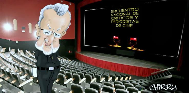<center>Encuentros Nacionales de Críticos de Cine</center>