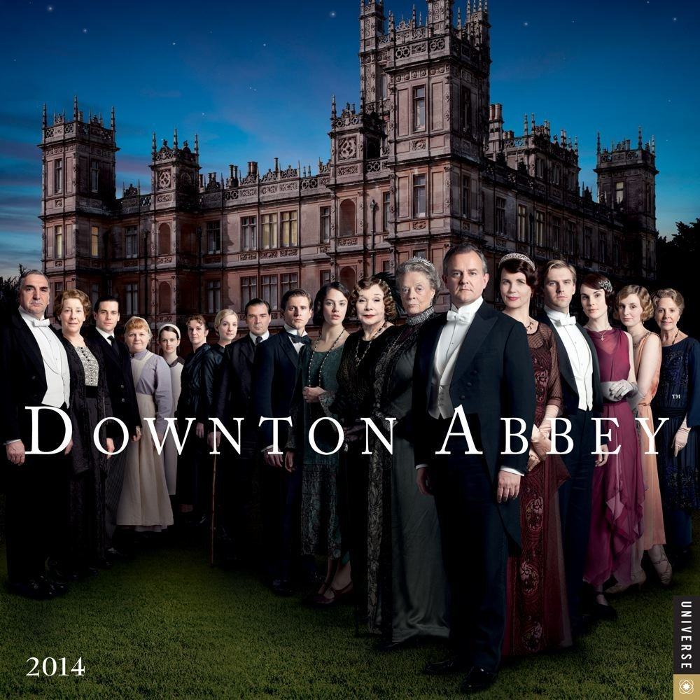 are already on sale here here is a downton abbey 2014 wall calendar